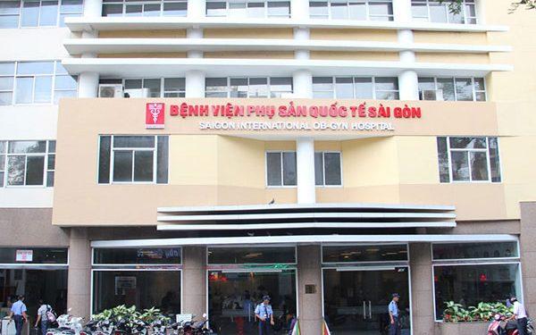 Bệnh viện Phụ sản Quốc tế Sài Gòn sở hữu cơ sở hạ tầng khang trang và máy móc, thiết bị hiện đại
