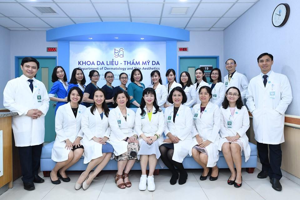 Khoa Da Liễu của Bệnh viện Đại Học Y Dược TPHCM