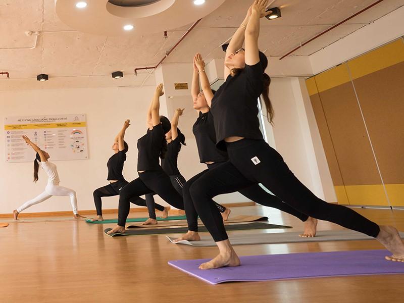 Yoga tại Viện Y Dược Học Dân Tộc