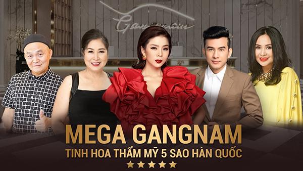 Thẩm mỹ viện Gangnam hiện tại sở hữu 4 cơ sở làm đẹp tại Hà Nội, TPHCM và Đà Nẵng