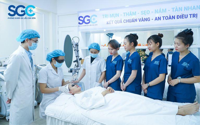 Phòng Khám Da Liễu Sài Gòn SGC