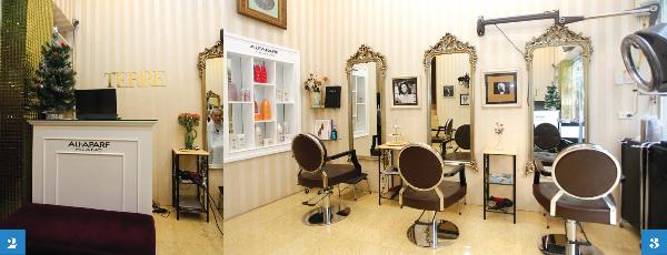 Địa chỉ làm tóc Terre Salon