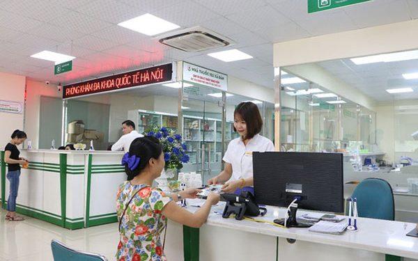Phòng khám Đa khoa Quốc tế Hà Nội tọa lạc tại 152 Xã Đàn, Quận Đống Đa, Hà Nội
