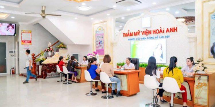 Thẩm mỹ viện Hoài Anh là một trong những thẩm mỹ viện treo chân mày đẹp và uy tín tại khu vực Hà Nội