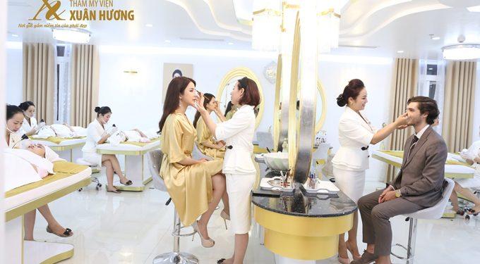 Thẩm mỹ viện treo chân mày Xuân Hương là lựa chọn của nhiều nữ giới có nhu cầu nâng chân mày