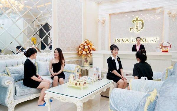Viện thẩm mỹ DIVA có không gian sang trọng, chất lượng dịch vụ hoàn hảo