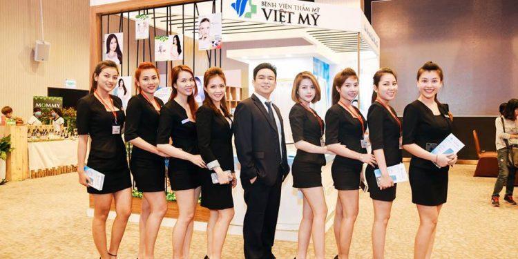 Dịch vụ treo chân mày tại Bệnh viện thẩm mỹ Việt Mỹ có giá 10.000.000 đồng