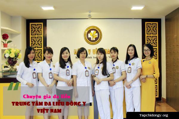 Trung tâm Da liễu Đông y Việt Nam nổi tiếng với đội ngũ bác sĩ giỏi