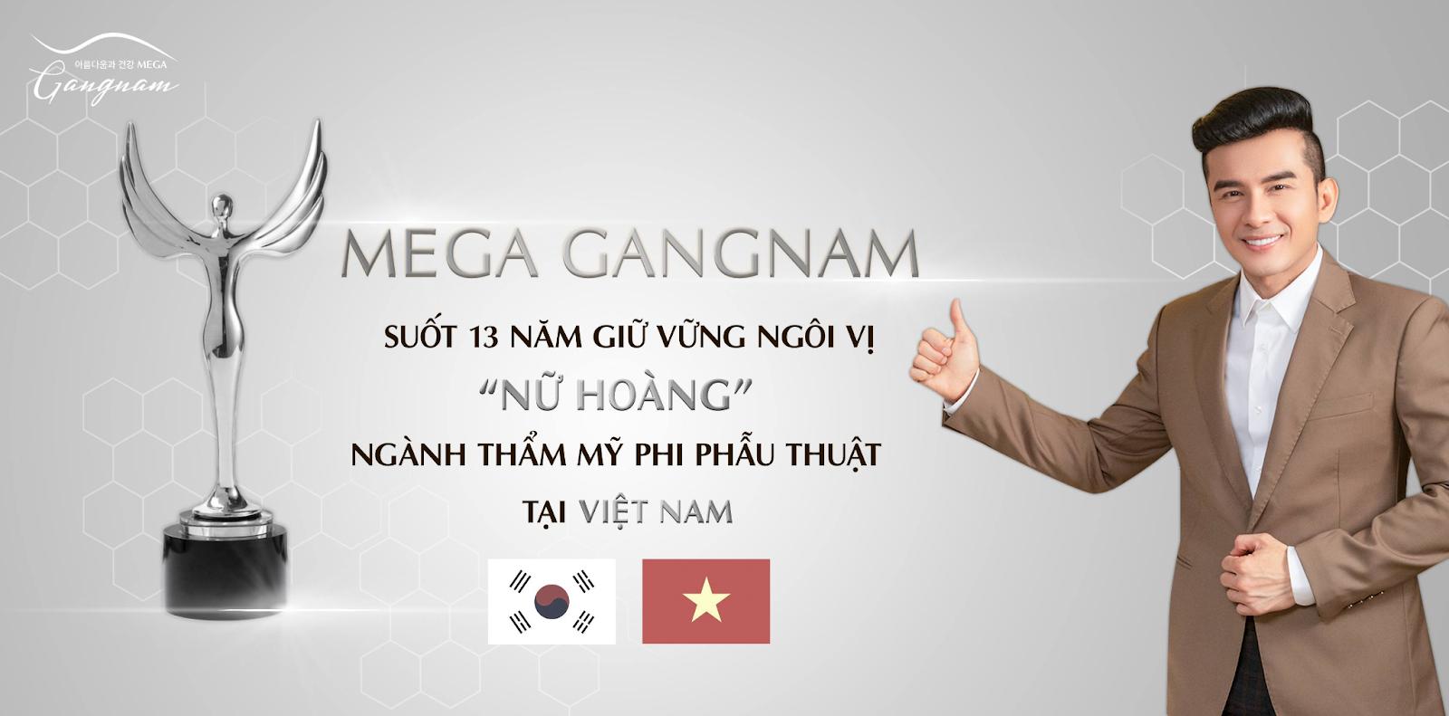 Công nghệ làm đẹp hiện đại tại thẩm mỹ viện Mega Gangnam
